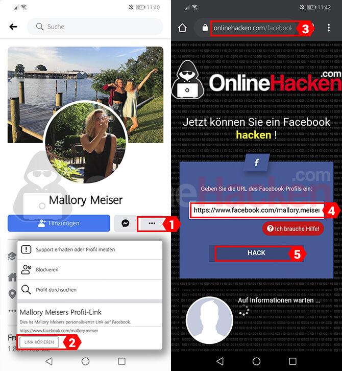 Facebook Hacken Online